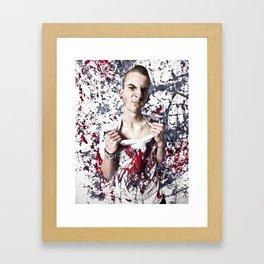 paint's wet.  Framed Art Print