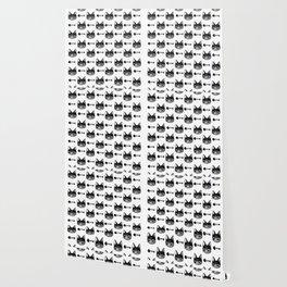 Cat & Bones Wallpaper