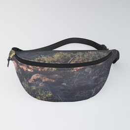 Wildflowers at Dawn - Nature Photography Fanny Pack