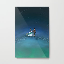 The Legend of the Milky Way Metal Print