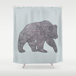 Bear. Shower Curtain