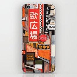 Tokyo Street Signs iPhone Skin