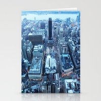 manhattan Stationery Cards featuring Manhattan by Joanna Dickinson
