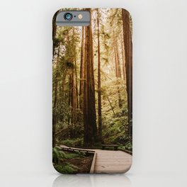 Muir Woods | California Redwoods Forest Nature Travel Photography iPhone Case