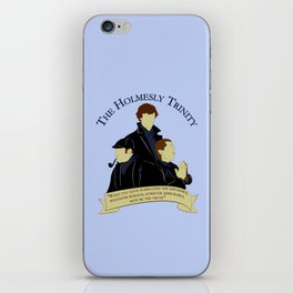 The Holmesly Trinity iPhone Skin