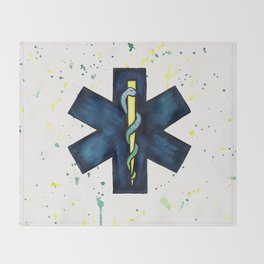 EMT Hero Throw Blanket