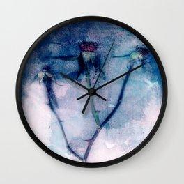 Rosas Wall Clock