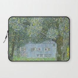 Upper Austrian Farmhouse by Gustav Klimt Laptop Sleeve