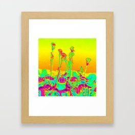 Lax Stix Framed Art Print