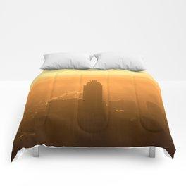 City Sunset Comforters