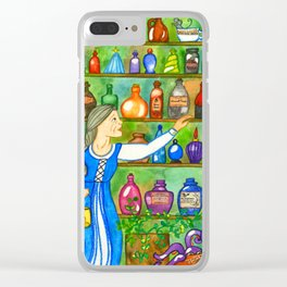 Potion Bottles Clear iPhone Case