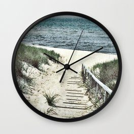 Saugatuck Beach Wall Clock