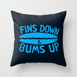 PADDLE OUT Throw Pillow