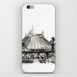 Space Mountain iPhone Skin