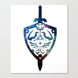 blue viking dark soul viking Canvas Print