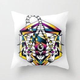 Scorpio - Eighth of the Zodiac Throw Pillow