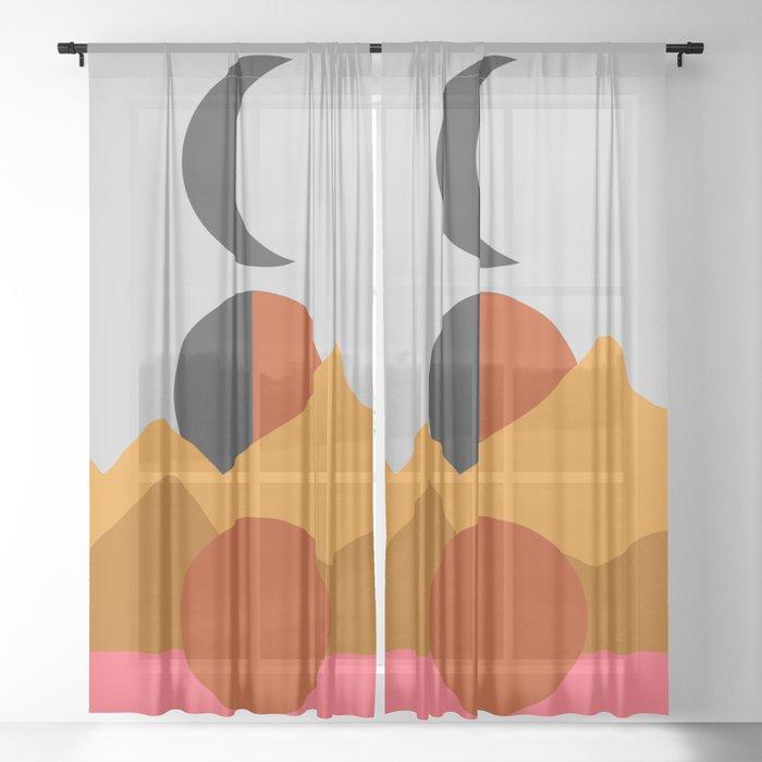 Moon Hills Sheer Curtain