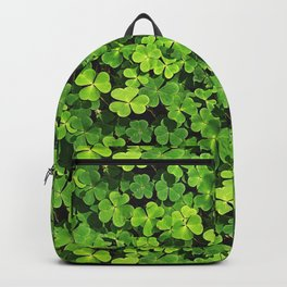 St.Patrick's Day Clover Pattern Backpack