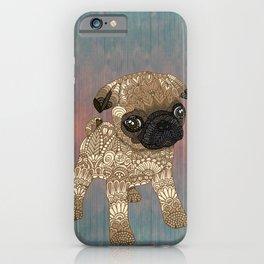 Pug Puppy iPhone Case
