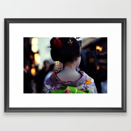 Geisha World Framed Art Print