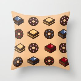 Donut resist these Cakelicious Throw Pillow