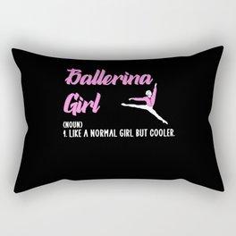 Ballet girl Rectangular Pillow