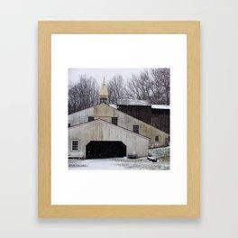 Hopewell Furnace Framed Art Print