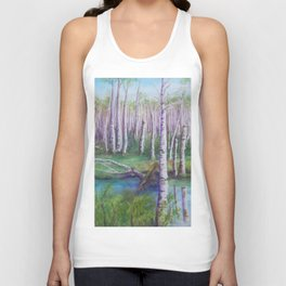 Crossing the Swamp WC151101-12 Unisex Tank Top