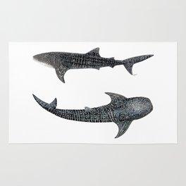 Whale sharks Rug