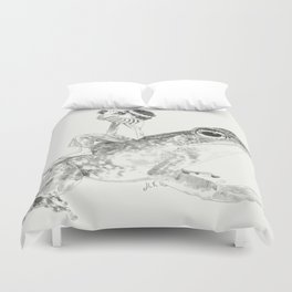 A Bigger World #3 Duvet Cover