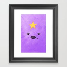 Adventure Time - Lumpy Space Princess Framed Art Print