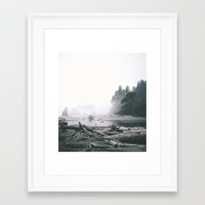 Washington Coast Framed Art Print