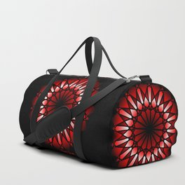 Burnt Umber Wonder Mandala Duffle Bag