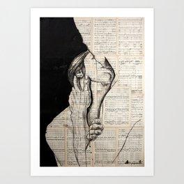 Pretty love Art Print