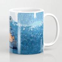 wall e Mugs featuring Wall-e by LAckas