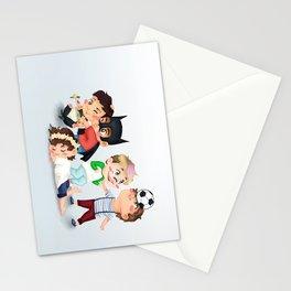 Chibi kids OT5 Stationery Cards