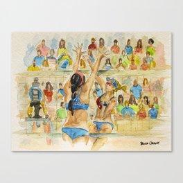 Kerri Walsh Jennings - Pro Beach Volleyball player Canvas Print