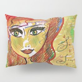 """Life Should Not Only Be Lived, It Should Be Celebrated"" Osho Pillow Sham"