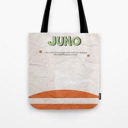 Juno - Alternative Movie Poster, classic movie, funny movie, minimal movie poster Tote Bag