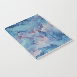Crashing- Alcohol Ink Painting Notebook