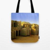 neverland Tote Bags featuring neverland by Giorgia Giorgi