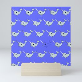 Narwhal Sea Unicorn Gift for Kids Animal Mini Art Print