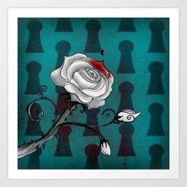 Bloody Alice Art Print