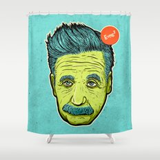 Science 4ever Shower Curtain