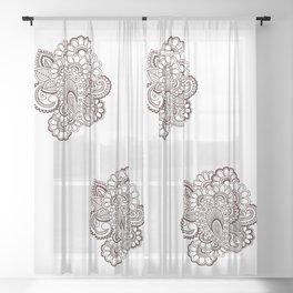 Garnesha Mash Up Sheer Curtain