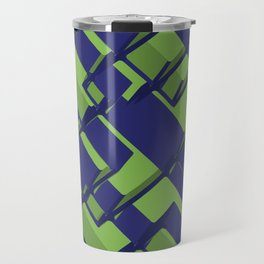 3D Abstract Futuristic Background III Travel Mug