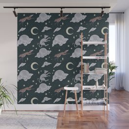The Teumessian Fox and Laelaps Wall Mural