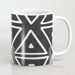 Big Triangles in Black and White Coffee Mug