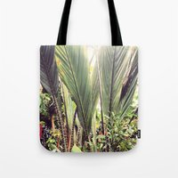 botanical Tote Bags featuring Botanical by Fig and Berry Clothing