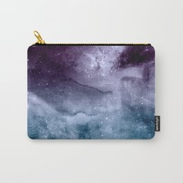 Watercolor and nebula abstract design Carry-All Pouch